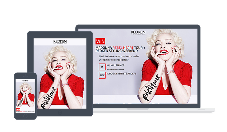 REDKEN: Madonna Rebel Heart tour