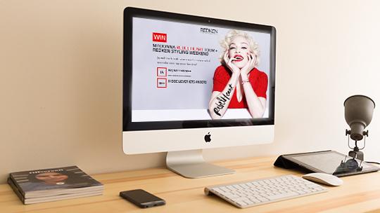 REDKEN: Madonna Rebel Heart tour